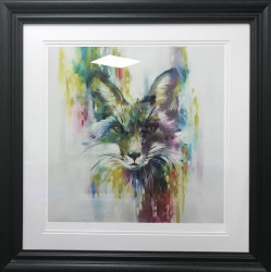 Fox - Chase (Large) - Framed