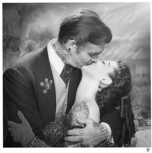 Frankly My Dear...Artist Proof - Mounted