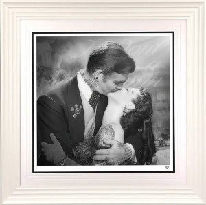 Frankly My Dear...White - Framed