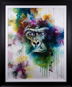 Gorilla 2019 - Artist Proof - Framed