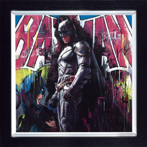 Gotham Hero  - Framed