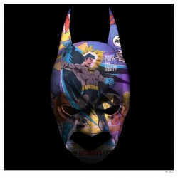 Gotham Knight - Regular Size - White Framed