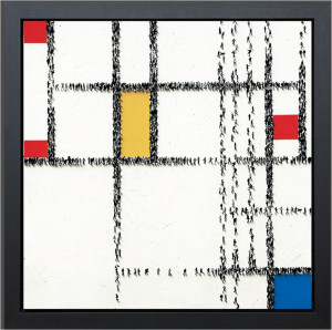 gridlock - framed box canvas