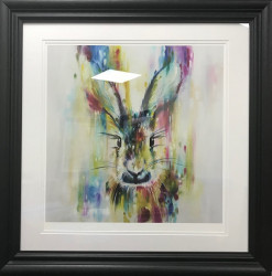 Hare - Escape (Small) - Framed