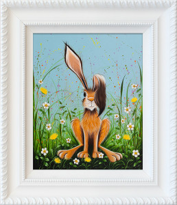 hare & seek - framed
