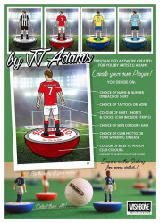 He Shoots...He Scores - Personalised Subbuteo Players