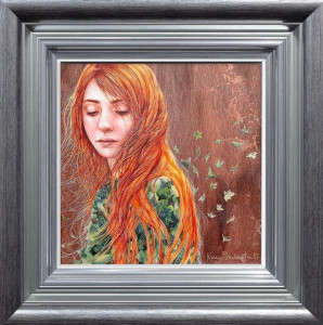 Her Book Of Ivy - Boutique Edition - Framed
