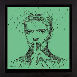 Hero - David Bowie - Framed
