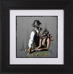 High Rollers - Study - Framed