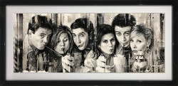 I'll Be There For You - Original - Black Framed