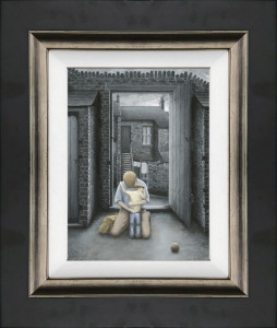 I'm All Yours Now Son - Canvas - Black - Framed