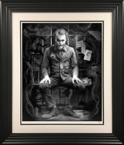 I'm Not A Monster - Black And White - Artist Proof Black - Framed