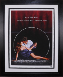 In One Kiss - Paper - Framed