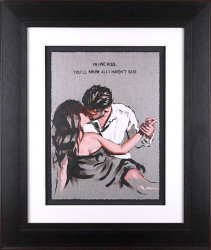 In One Kiss - Sketch - Framed