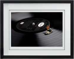 In The Groove - Framed