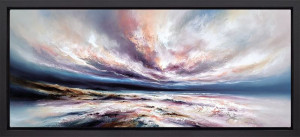 Infinite Seas - Framed - Box Canvas