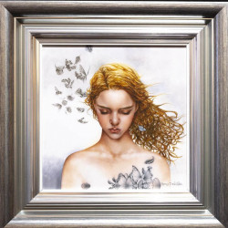 Becoming Nobody - Boutique Edition - Silver-Blue Framed