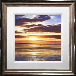 Into The Sunset - Framed