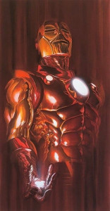 Iron Man - Shadows Collection - Printers Proof - Mounted