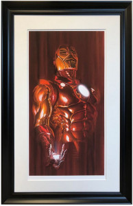 Iron Man - Shadows Collection - Printers Proof - Framed