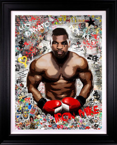 Iron Mike - Deluxe - Artist Proof Black - Framed
