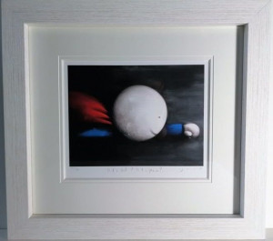 Is It A Bird? Is It A Plane? - Standard Edition - White - Framed
