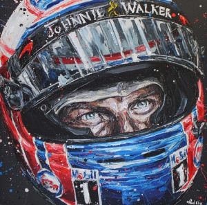 Jenson - Canvas  - Framed
