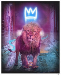 King Of The Urban Jungle - Blue