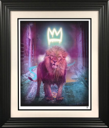King Of The Urban Jungle - Yellow-Gold - Black Framed
