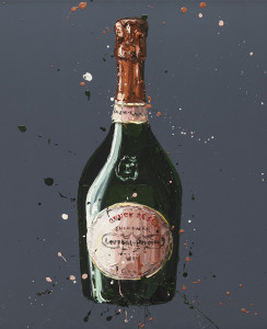 Laurent Perrier Rose - Mounted