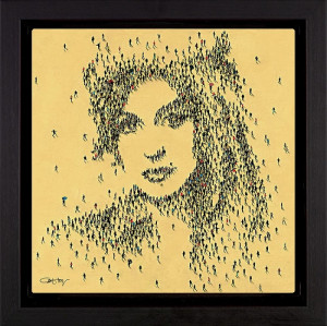 legend - amy winehouse - framed box canvas