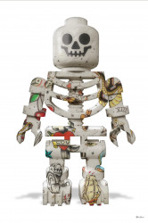 Lego Skeleton (White Background) - Small