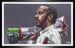 Lewis 1000 - Canvas - Artist Proof Framed