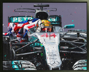 Lewis - Mexico '17 - Artist Proof Canvas - Framed