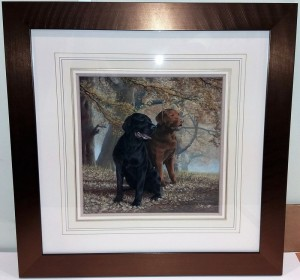 lifelong companions - framed