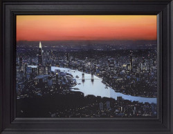 London Lights - Black Framed