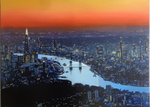 London Lights - Canvas - With slip