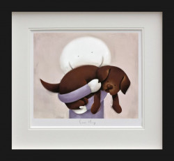 Love Hug - Black Framed