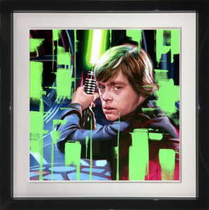 Luke's Choice - Original  - Framed