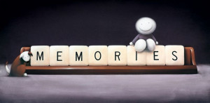 making memories - mounted