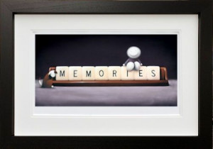 Making Memories -  In Black - Framed