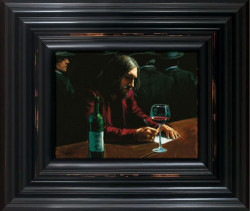 Man At The Bar VIII - Framed