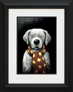 man's best friend  - framed