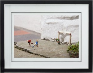 match of the day - framed
