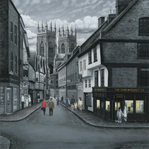 Meandering To The Minster - Canvas - Board Only