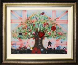 Memories of a Brit Kid - Framed