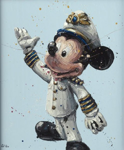 mickey - mounted