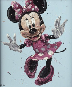minnie pro - canvas  - framed