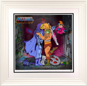 Misters Of The Universe - White - Framed