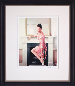 model in westwood  - framed